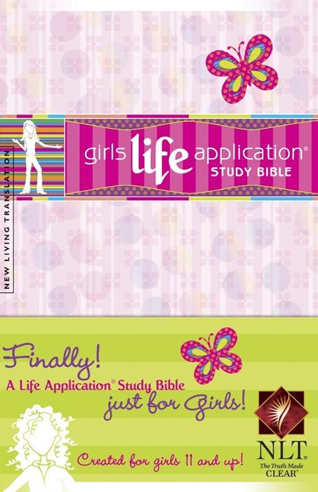 NLT Girls Life Application Study Bible HB (Hard Cover)