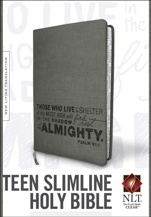 NLT Teen Slimline Bible: Psalm 91 (Imitation Leather)