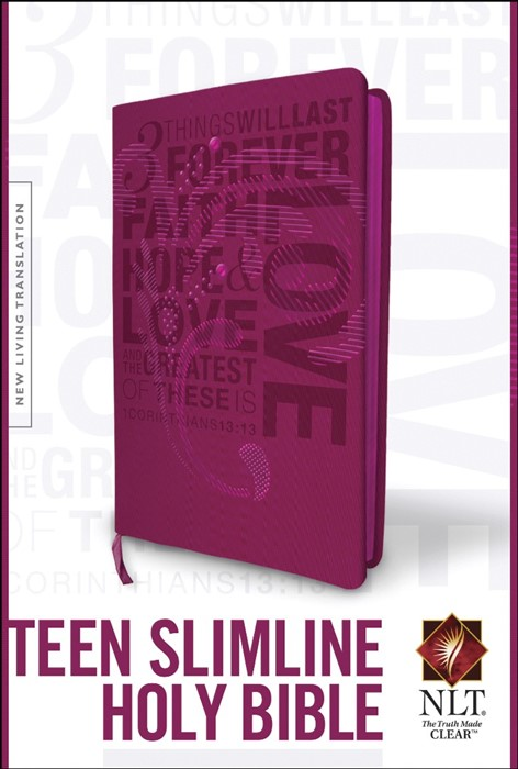 NLT Teen Slimline Bible: 1 Corinthians 13 (Imitation Leather)
