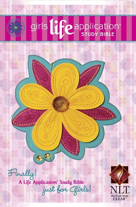NLT Girls Life Application Study Bible, Tutone (Imitation Leather)