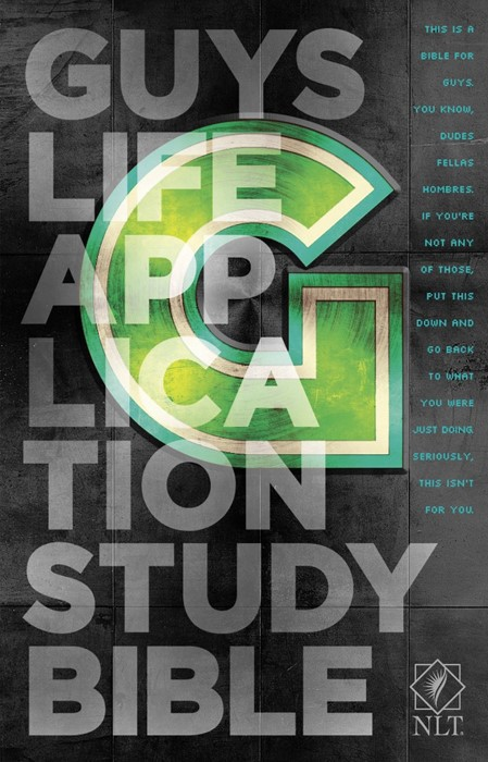 NLT Guys Life Application Study Bible (Paperback)