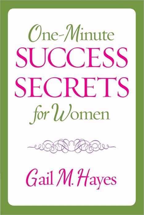 One-Minute Success Secrets For Women (Paperback)
