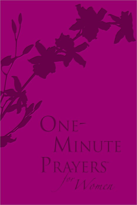 One-Minute Prayers For Women Gift Edition (Leather Binding)