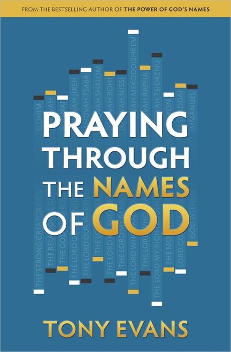 Praying Through The Names Of God (Paperback)