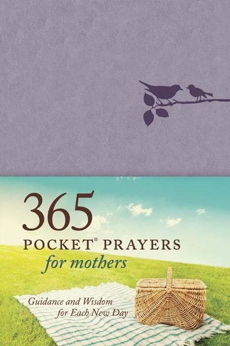 365 Pocket Prayers For Mothers (Imitation Leather)