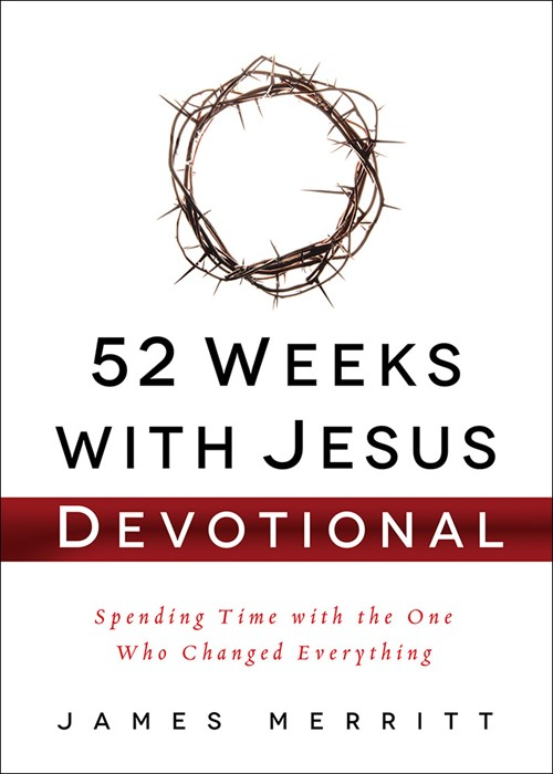 52 Weeks With Jesus Devotional (Hard Cover)