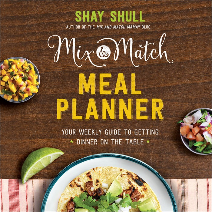 The Mix-And-Match Meal Planner (Hard Cover)