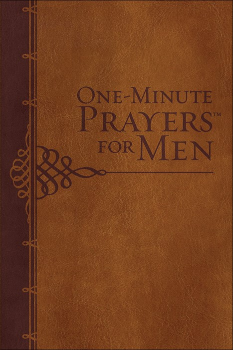 One-Minute Prayers For Men Gift Edition (Leather Binding)