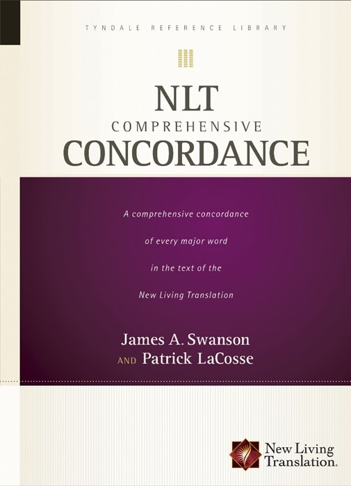 NLT Comprehensive Concordance (Hard Cover)