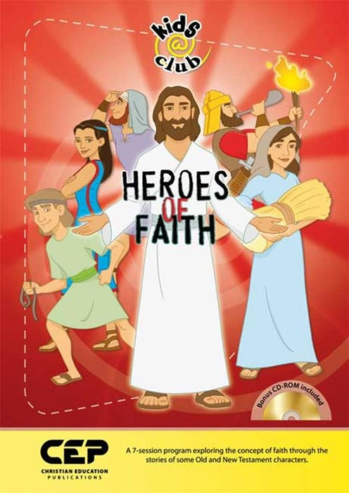 Heroes Of Faith (Spiral Bound)