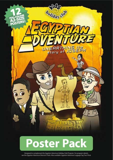 Egyptian Adventure (Full Colour A2 Poster Pack Of 12) (Poster)