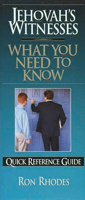 Jehovah's Witnesses: What You Need To Know (Pamphlet)