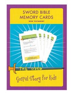 Sword Bible Memory Cards (New Testament) CD (CD-Audio)