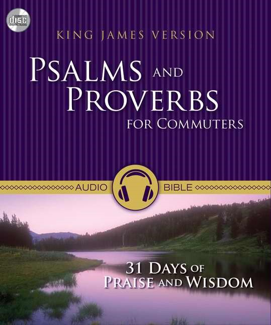 KJV Psalms And Proverbs For Commuters (CD-Audio)