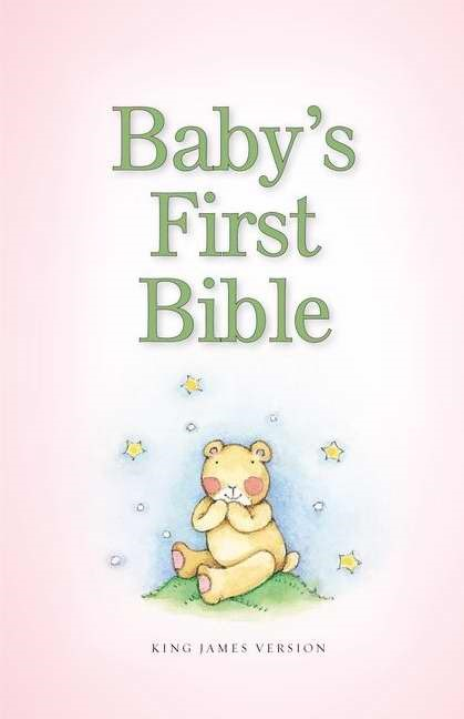 KJV Baby's First Bible - Pink (Hard Cover)