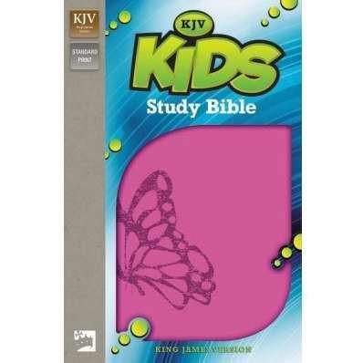 KJV Kids Study Bible (Leather-Look)