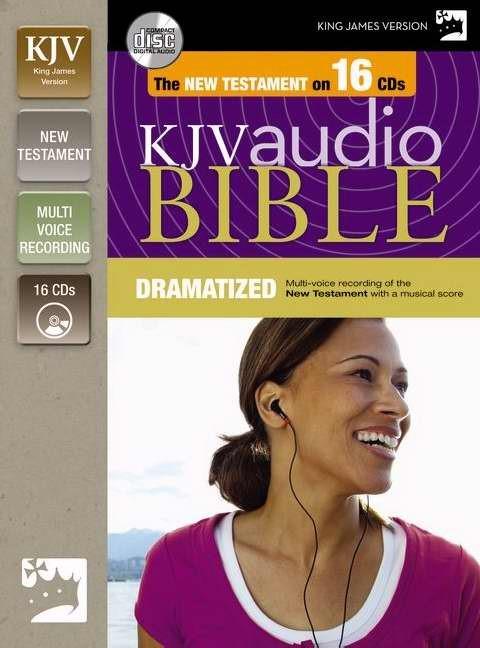 KJV New Testament Dramatized Audio (CD-Audio)