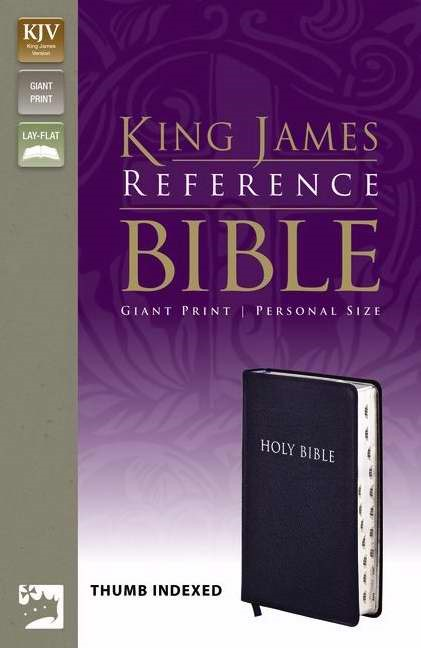 KJV Reference Bible, Giant Print Indexed (Bonded Leather)