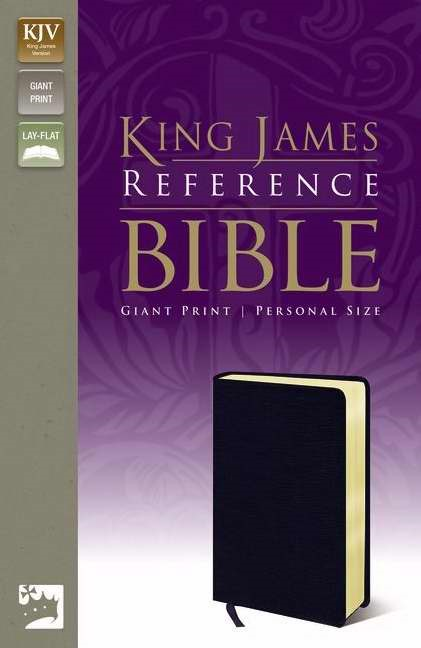 KJV Reference Bible, Giant Print (Bonded Leather)