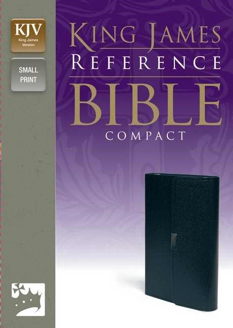 KJV Reference Bible, Compact (Bonded Leather)
