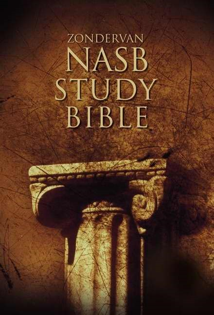 NASB Zondervan Study Bible (Hard Cover)