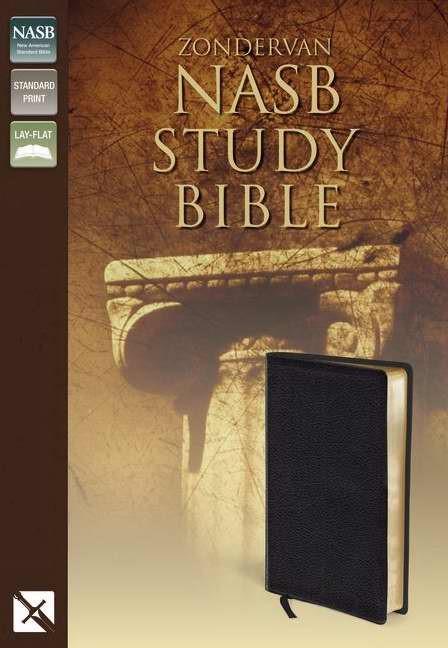 NASB Zondervan Study Bible (Bonded Leather)