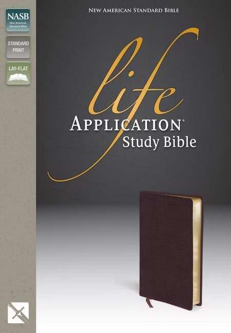 NASB Life Application Study Bible, Burgundy (Bonded Leather)