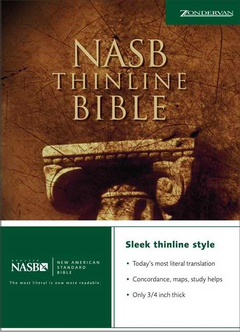 NASB Thinline Bible (Hard Cover)