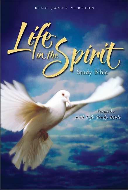 KJV Life In The Spirit Study Bible (Leather Binding)