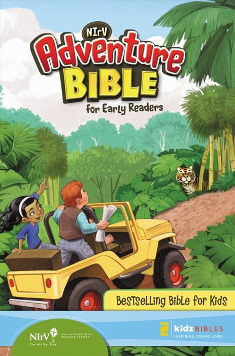 Adventure Bible For Early Readers, Nirv (Hard Cover)
