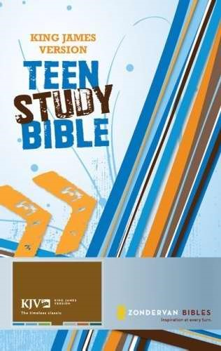 KJV Teen Study Bible H/B (Hard Cover)