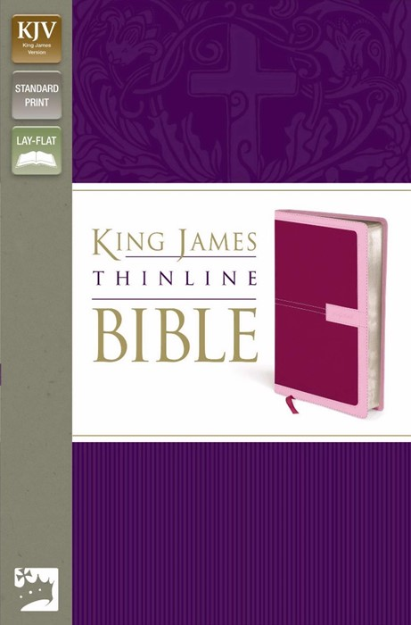 KJV Thinline Bible, Red/Pink, Red Letter Ed. (Imitation Leather)