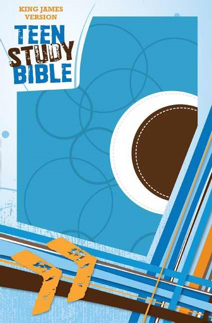 KJV Teen Study Bible (Leather-Look)