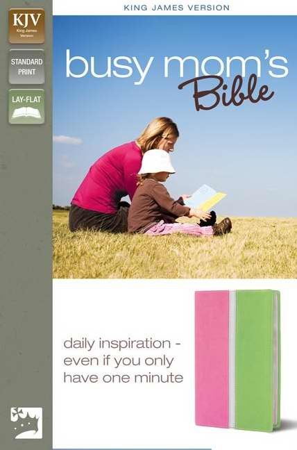 KJV Busy Mom's Bible (Leather-Look)