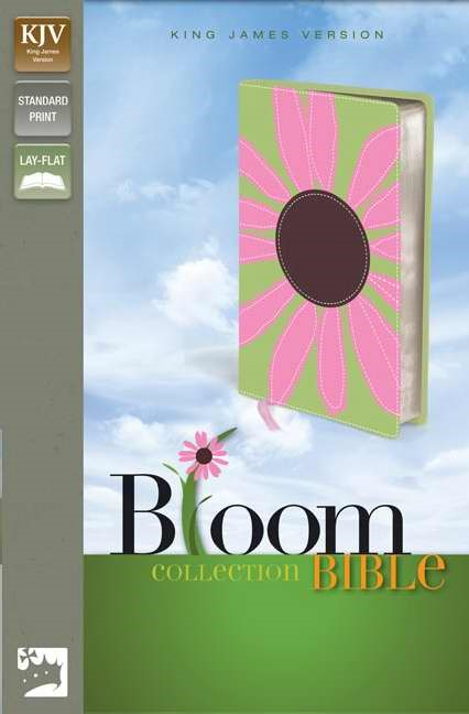 KJV Thinline Bloom Collection Bible (Leather-Look)
