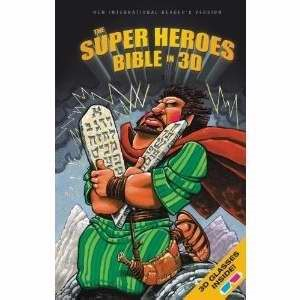 NIRV Super Heroes Bible In 3D (Hard Cover)