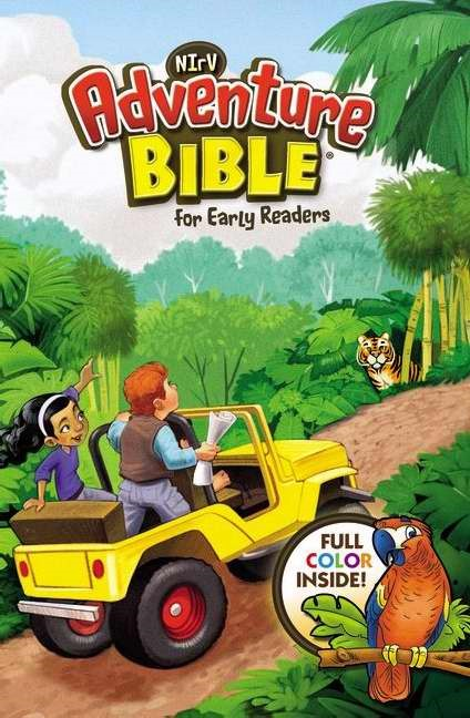 NIRV Adventure Bible For Early Readers, Lenticular (3D Moti (Hard Cover)