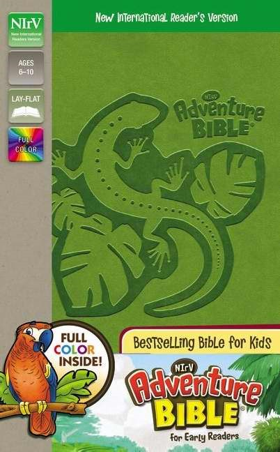 NIRV Adventure Bible For Early Readers (Leather Binding)