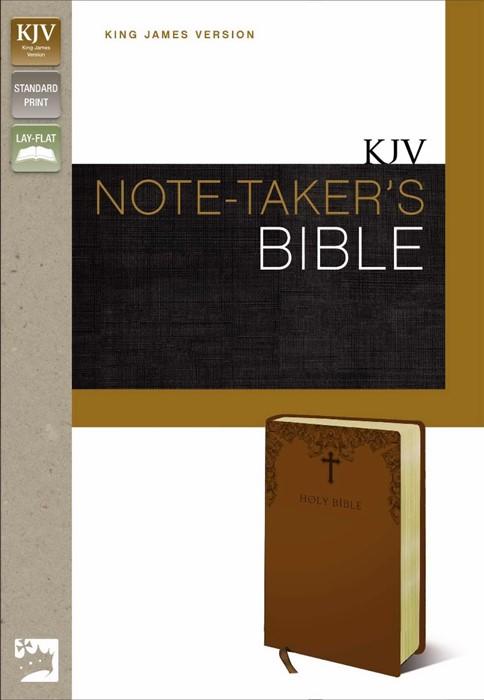 KJV Note-Taker's Bible (Leather-Look)