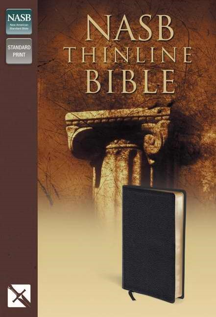 NASB Thinline Bible (Bonded Leather)