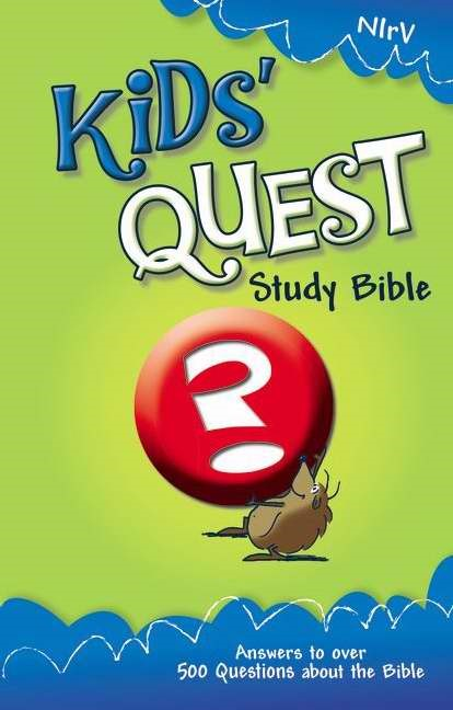 NIRV Kids' Quest Study Bible (Hard Cover)