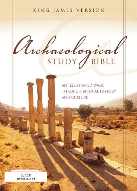 KJV Archaeological Study Bible (Bonded Leather)