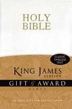 KJV Gift And Award Bible White (Leather-Look)