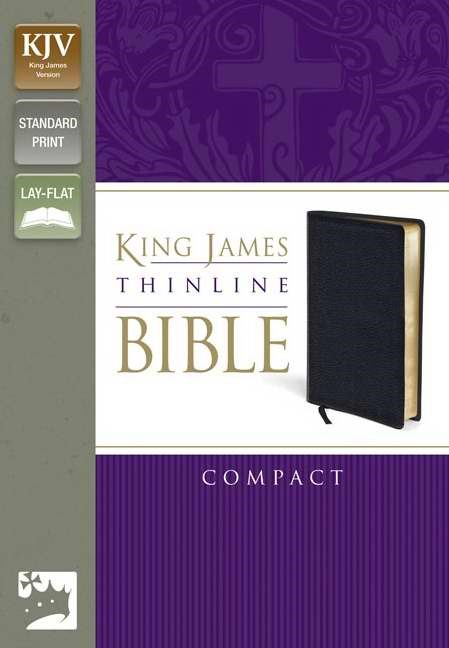 KJV Thinline Bible, Compact (Bonded Leather)