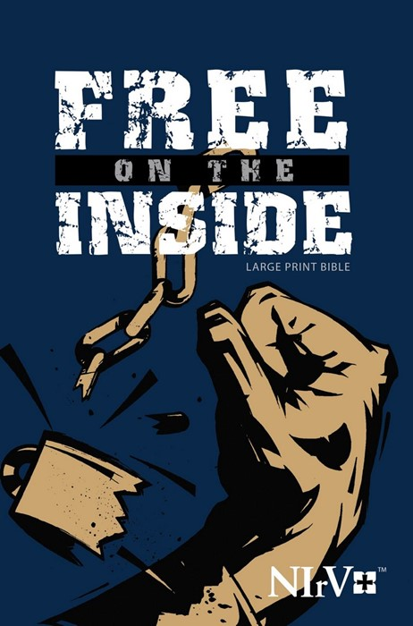 NIRV Free On The Inside Large Print Bible (Paperback)