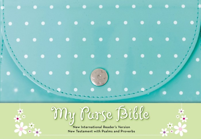 NIrV, My Purse Bible, Imitation Leather, Blue (Leather-Look)