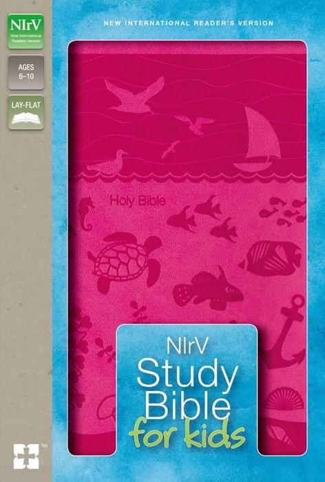 NIRV Study Bible For Kids (Leather Binding)