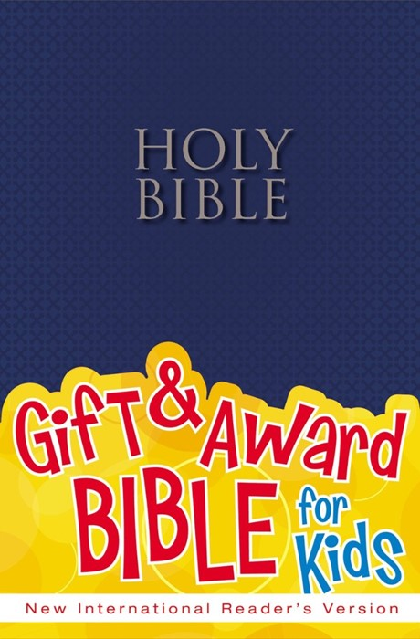 NIRV Gift And Award Bible Blue (Paperback)