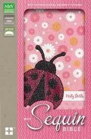 NIRV Sequin Bible Ladybug (Paperback)