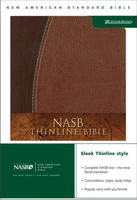 NASB Thinline Bible (Leather-Look)